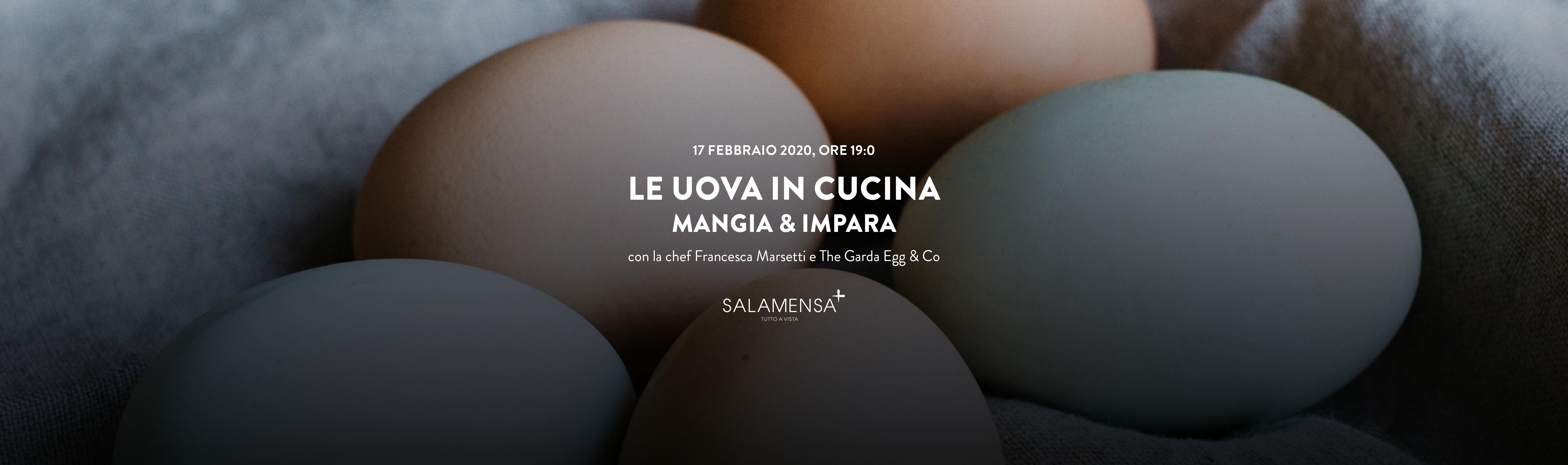 Salamensa | Le uova in cucina